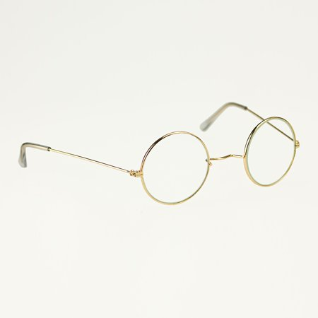 Sunnywood Santa Metal Frame Glasses Adult Costume Accessory](Santa Accessories)