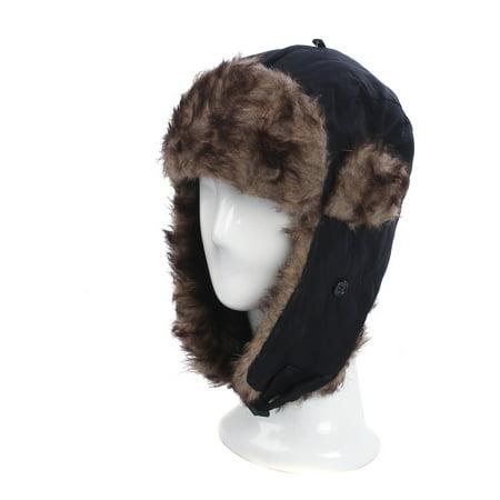 Winter Warm Faux Fur Trapper Ski Snowboard Hunter Hat