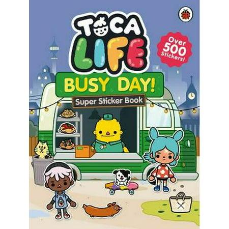 Toca Doumbeks - TOCA LIFE BUSY DAY STICKER BOOK