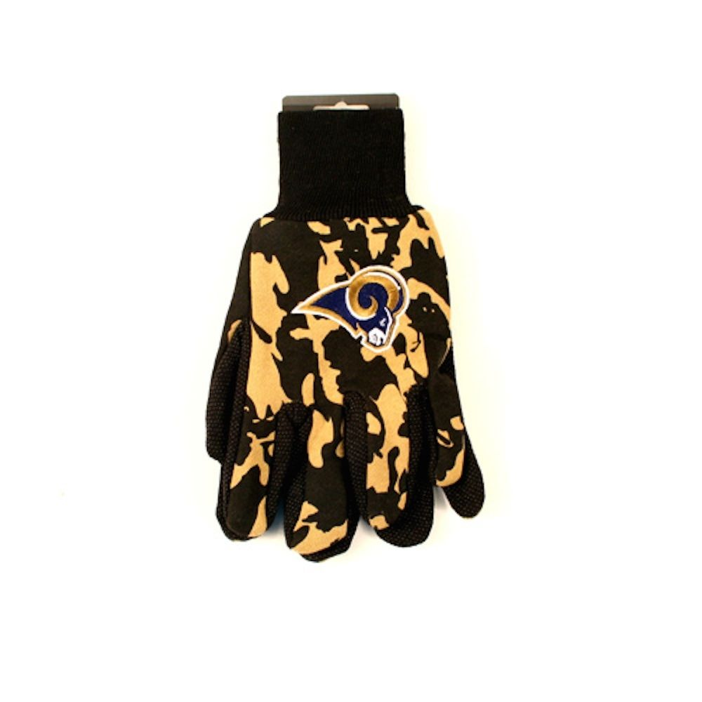 St. Louis Rams Team Color Camo Sport Utility Gloves by Wincraft