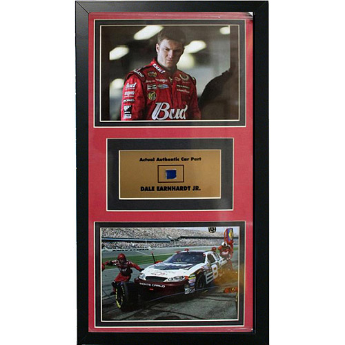 NASCAR Dale Earnhardt, Jr Game Used Frame, 12x18