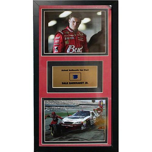 Nascar Dale Earnhardt Jr Game Used Frame 12x18 Walmart Com