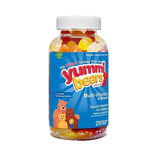 Hero Nutritional Yummi Bears  Multi-Vitamin & Mineral, 200 ea