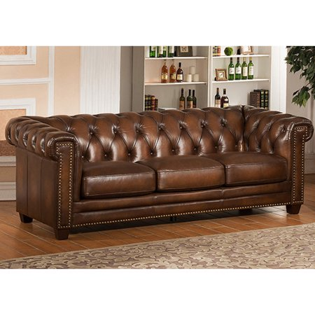 Amax Leather Stanley Park II Top Grain Leather Sofa