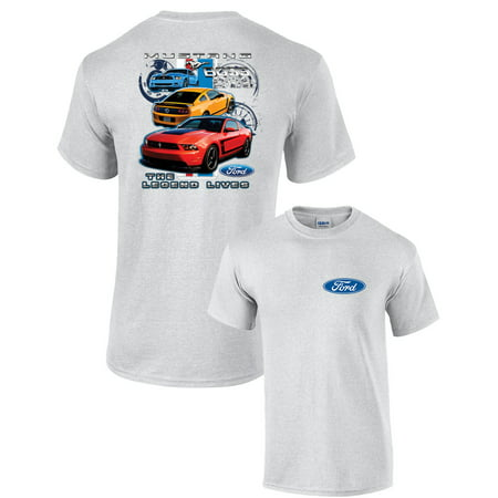 Ford Mustang Boss 302 T Shirt Legend Lives Design