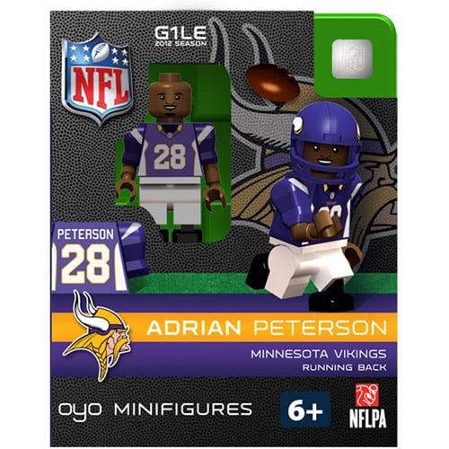 OYO NFL 2013 Vikings Adrian Peterson Mini Action Figure