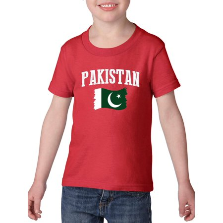 33b9b3f3 Normal is Boring - Pakistan Heavy Cotton Toddler Kids T-Shirt Tee Clothing  - Walmart.com