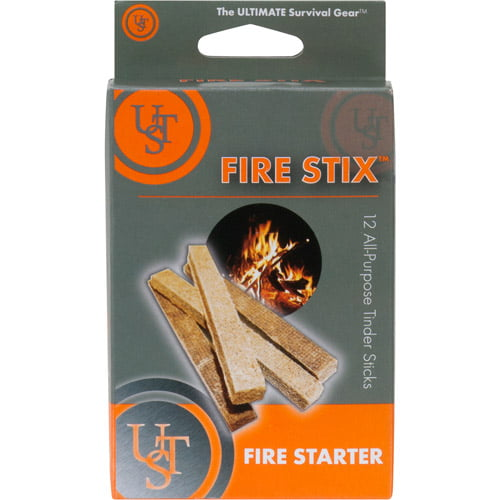 Ultimate Survival Technologies Fire Starter Stix, 12-Pack by UST Brands LLC