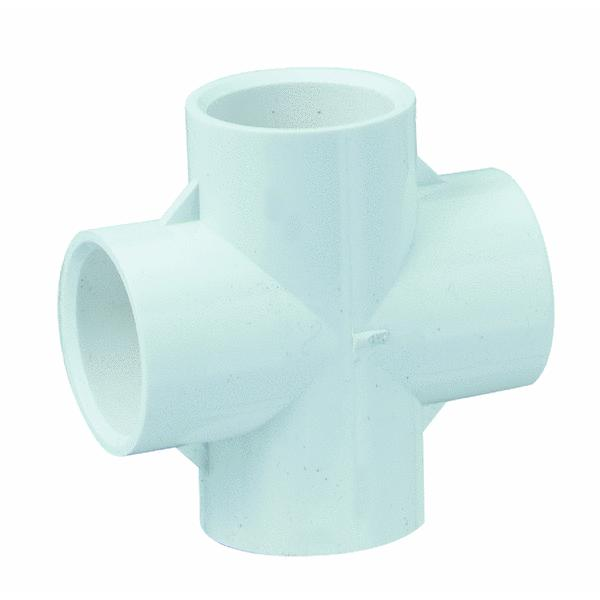 GenovaProducts PVC Sch. 40 Crosses