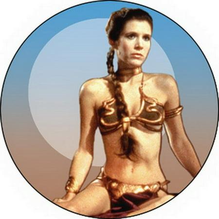 Star Wars Princess Leia Button B Sw 0027