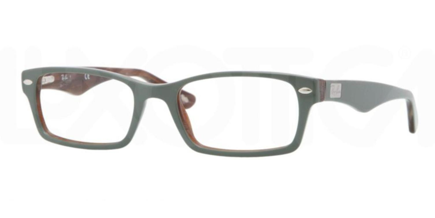 cd8bafa7f5 netherlands eyeglasses ray ban optical rx 5206 5132 top green on variegated  brown a16a2 f4950