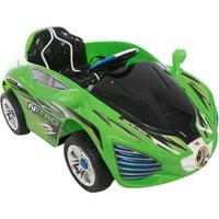 6V Ride On Hyper Rev in Green, Battery Powered