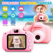 Mini 200W Pixels Kids Toys Camera for 3-6 Year Old Girls Boys, Compact Cameras for Children, Best Gift for 5-10 Year Old Boy Girl 1080P IPS 2.0 Inch HD Video Camera Creative Gifts