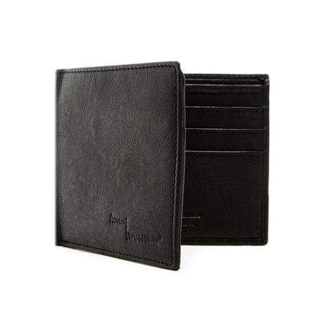 112a4e3be068c Genuine Leather Wallets For Men - Slim Minimalist Bifold Mens Wallet RFID  Blocking