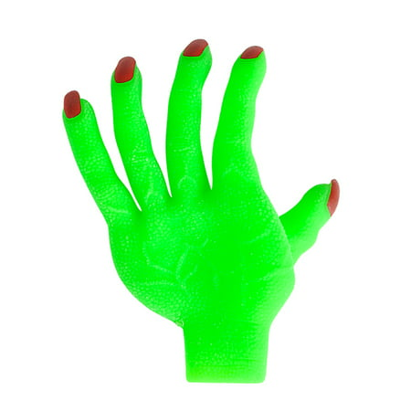 Adult's Green Zombie Glove Hand Undead Monster Halloween Costume Accessory - Zombie Halloween Sounds