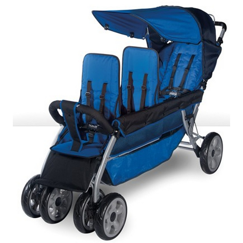 LX3 Three Passenger Stroller - Regatta
