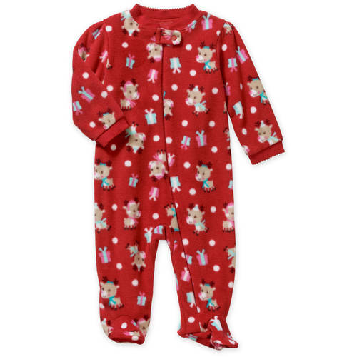 Holiday Newborn Baby Girl Sleep N Play Walmart