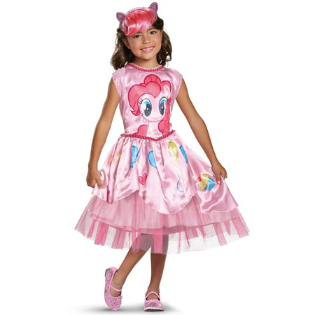 My Little Pony: Child Pinkie Pie Movie Classic Costume - Pinkie Pie Equestria Girl Costume