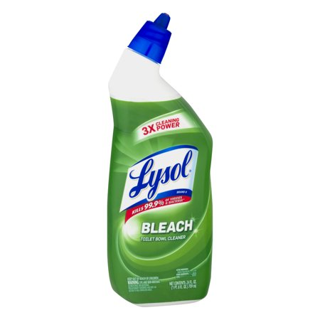 Lysol Complete Clean Toilet Bowl Cleaner With Bleach 24 Ounce Best Bathroom Cleaners