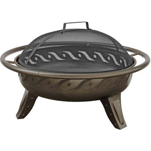 Landmann Patio Lights VSB Fire Pit, Firewave