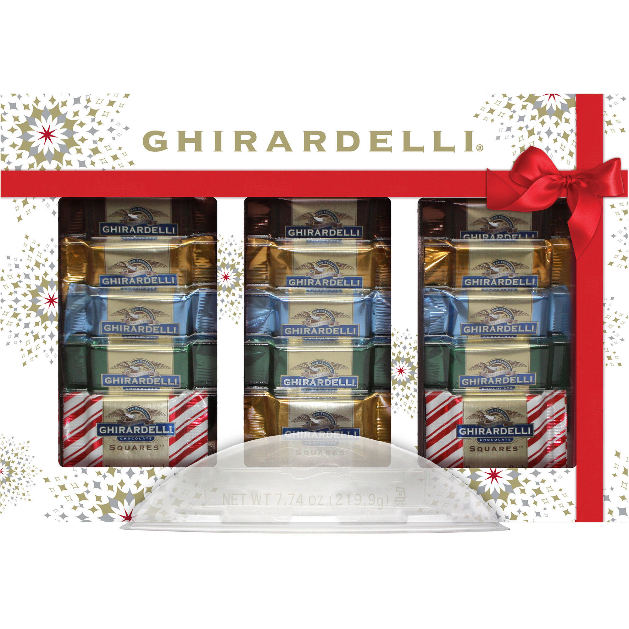 Ghirardelli Chocolate Squares Ultimate Collection Holiday Gift, 7.74 oz