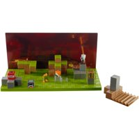 Minecraft Stop-Motion Movie Creator Set with 4 Mini-Figures & Props