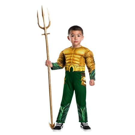 Halloween Aquaman Movie Toddler Aquaman Infant/Toddler Costume](Aquaman Kids Costume)