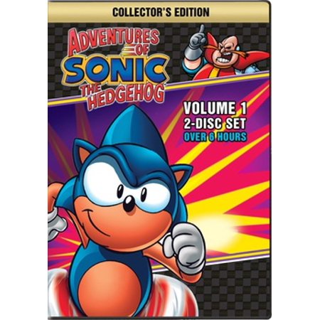 Adventures of Sonic the Hedgehog (DVD) (List Of All Sonic The Hedgehog Characters)