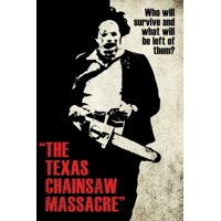 Texas Chainsaw Massacre- Leatherface Silhouette Poster - 24x36