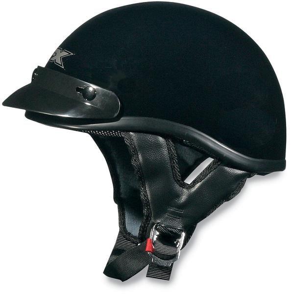 AFX FX-70 Beanie Solid Helmet Black