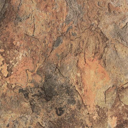 Congoleum DuraCeramic Sierra Slate 15.63'' x 15.63'' Vinyl Tile in Terra Slate