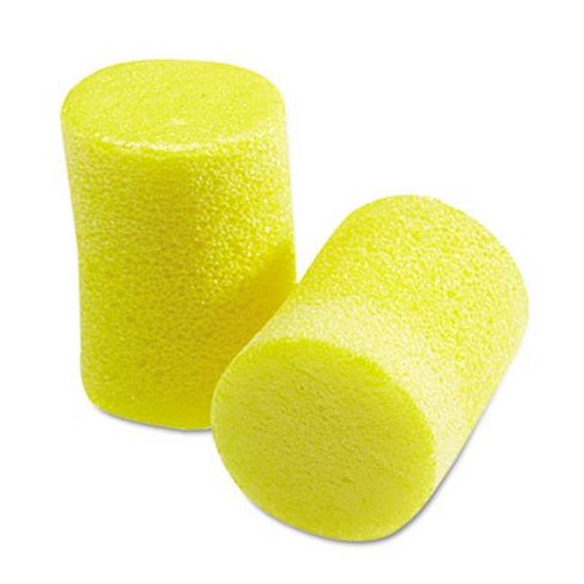 Classic Ear Plugs  Pillow Paks  Uncorded  Foam  Yellow  30 Pairs/Box