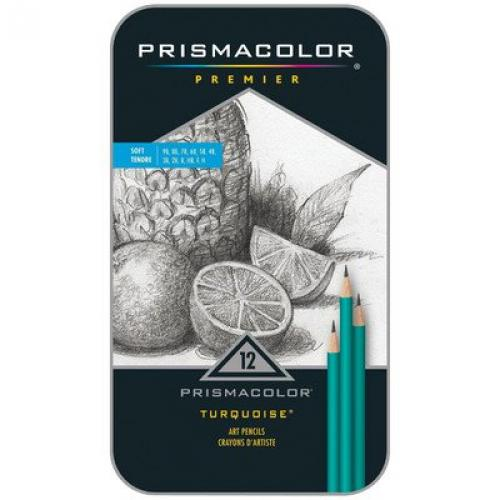 Prismacolor Premier Turquoise Drawing Pencil (Set of 12)