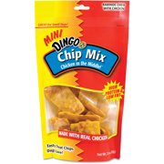 Dingo Chip Mix Mini Rawhide Chews With Chicken, 7.5 oz