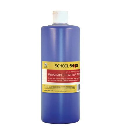 school smart non toxic washable tempera paint 1 qt. Black Bedroom Furniture Sets. Home Design Ideas