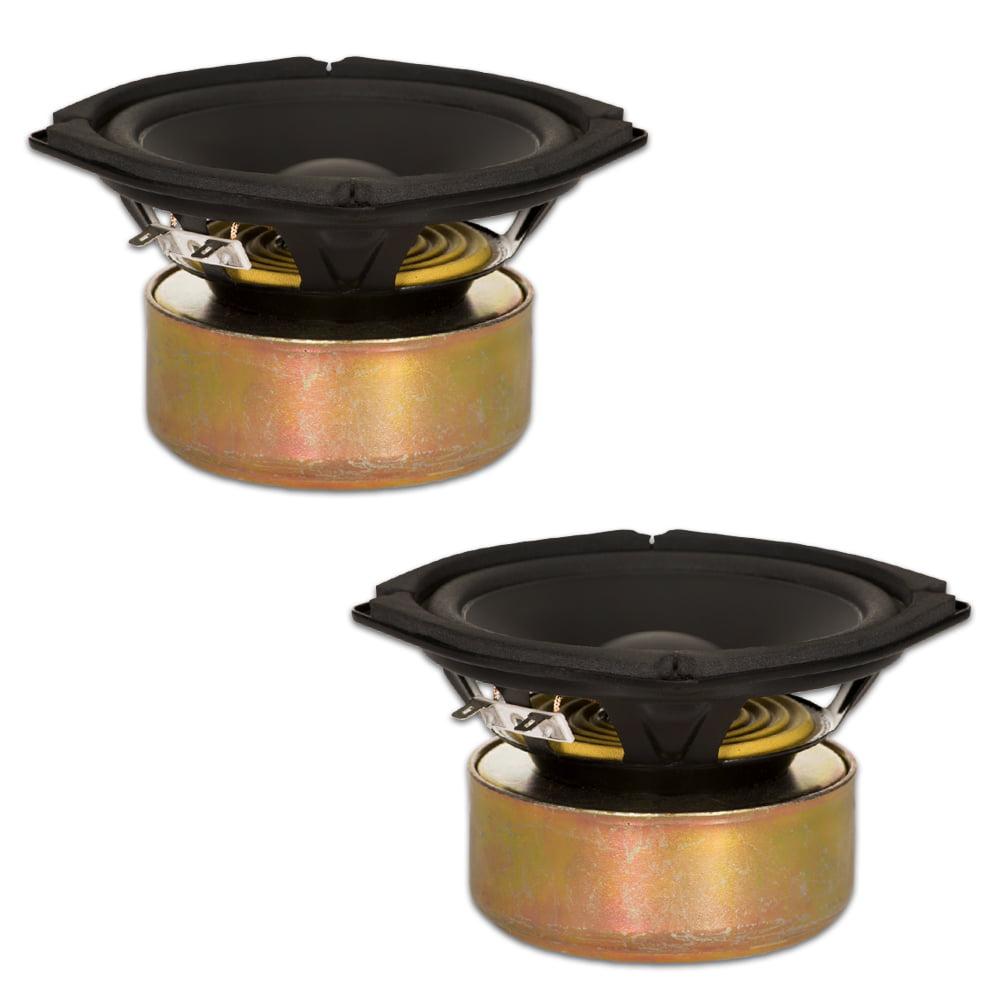 "2 Goldwood Sound GW-205/8S Shielded 5.25"" Woofers 130 Watt each 8ohm Replacement Speakers"