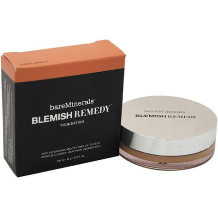 Amber Foundation (Bareminerals Blemish Remedy Foundation, Clearly Amber, 0.21 Oz )