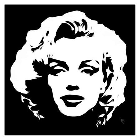 Louis Leonard Art Marilyn Monroe VIII by William Cuccio Canvas Wall Art