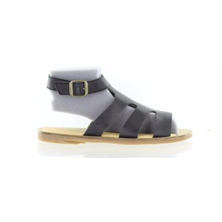 El Naturalista Womens Oili Backstrap Sandal Tulip Black Leather Size 36 EU