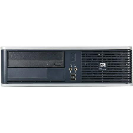 refurbished hp black dc5800 desktop pc with intel core 2 duo