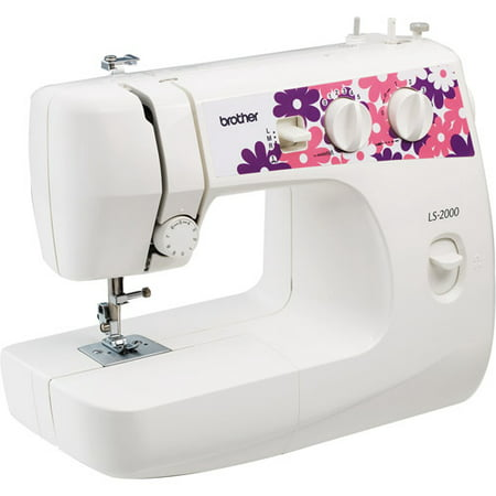 Brother LS40 Sewing Machine With 40 Stitch Functions Walmart New How To Thread A Brother Ls2000 Sewing Machine