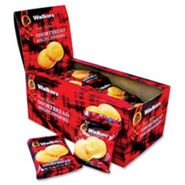 Office Snax OFXW116 Shortbread Cookies,Fingers,2 Pc Snack Packs, 24PK-BX