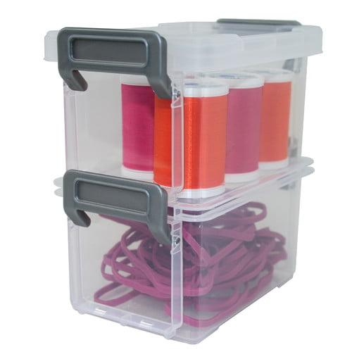 IRIS USA, Inc. Layered Latching Box (Set of 2) (Set of 2)