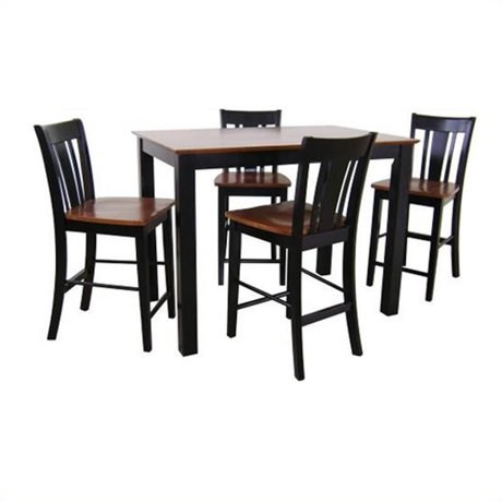 International concepts 24 counter stool in black and soft for Table 6 kitchen and bar canton ohio