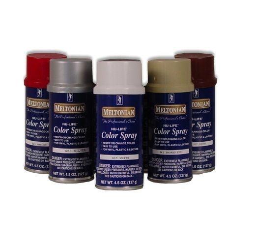 Meltonian Nu-Life Color Spray Leather Plastic Vinyl Paint/Dye 4.5 oz,