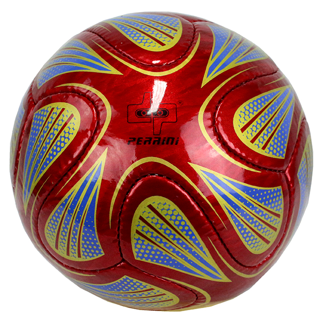High Quality Pro Perrini Indoor Outdoor Sports Brazuca Red Soccer Ball Size 5