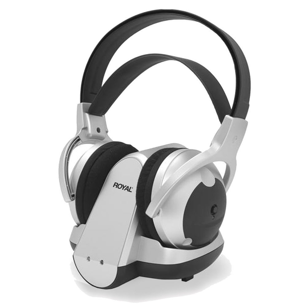 Royal WES50 900 MHz Wireless Stereo Headphones