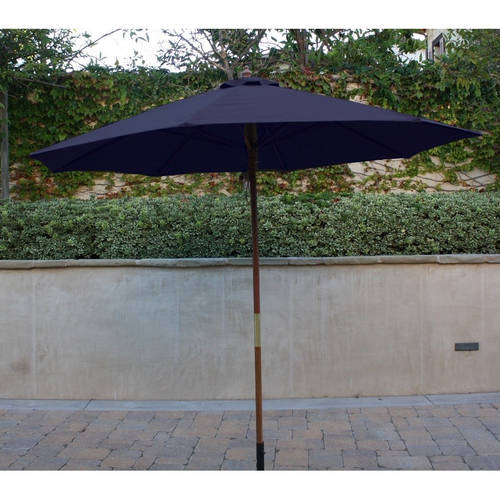 Formosa Covers 9ft Umbrella Replacement Canopy 6 Ribs in Navy Olefin (Canopy Only)
