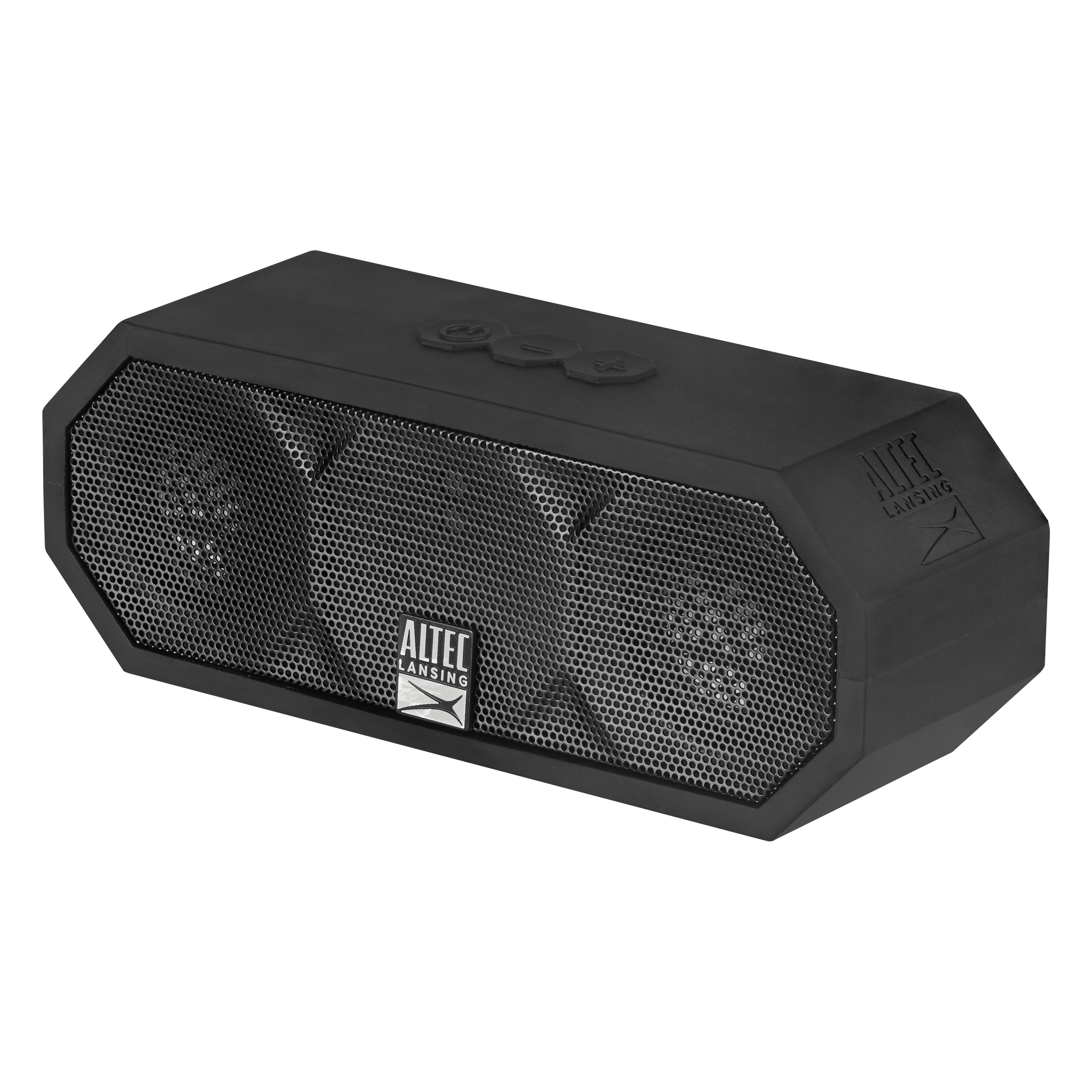 Altec Lansing Jacket H20 3 Bluetooth Speaker- Black