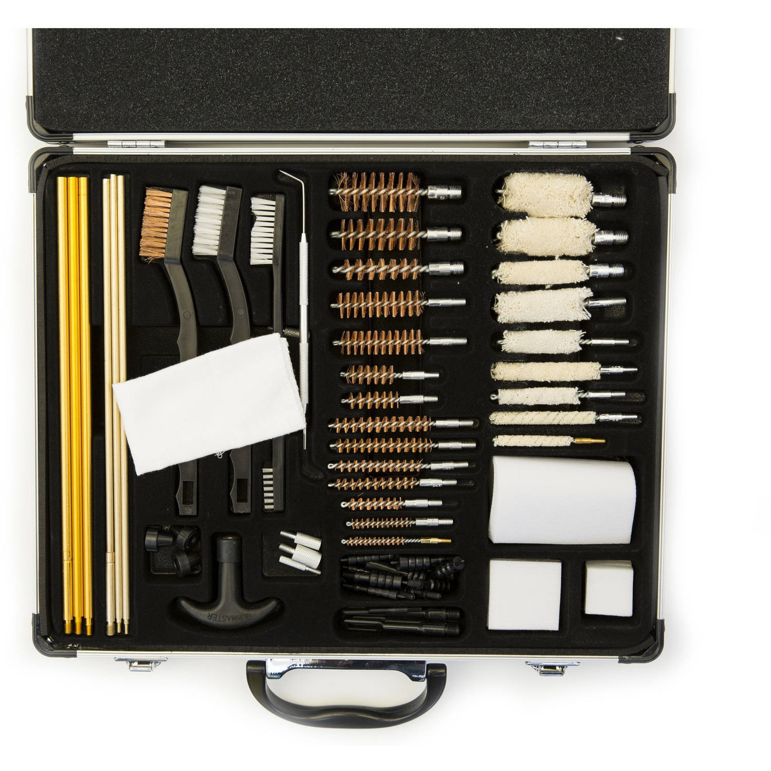 Gunmaster 62-Piece Super Deluxe Universal Cleaning Kit in Aluminum Case